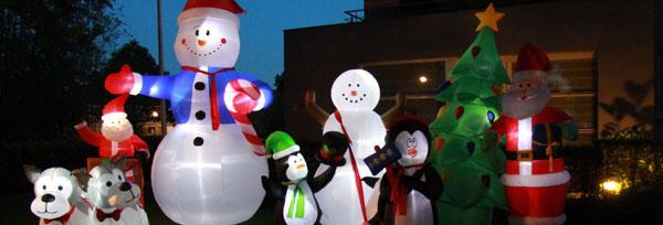 Aufblasbare figuren Weihnachten