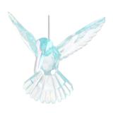 Kolibri Christbaumschmuck, blau, Acryl, 10 cm