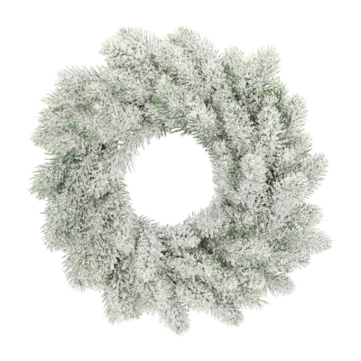 Weihnachtskranz mit Schnee, 35 cm